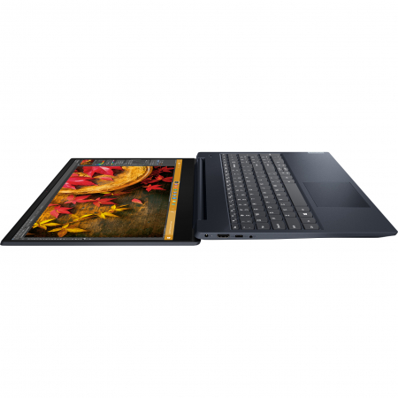 "Laptop Lenovo Ideapad S340-15IIL cu procesor Intel® Core™ i5-1035G1 pana la 3.60 GHz Ice Lake, 15.6"", Full HD, IPS, 8GB, 1TB HDD + 256GB SSD, Intel UHD Graphics, Free DOS, Abyss Blue2"