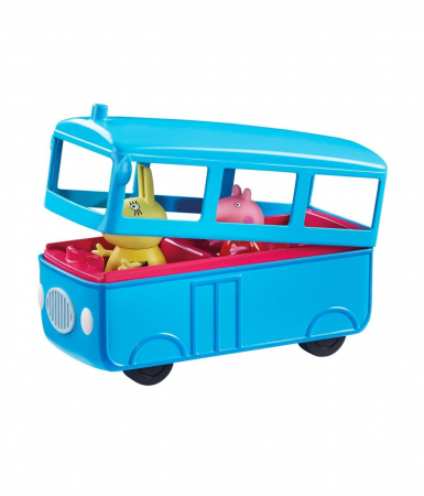 Set figurine Peppa Pig - School bus with Sound3
