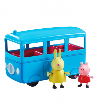 Set figurine Peppa Pig - School bus with Sound1
