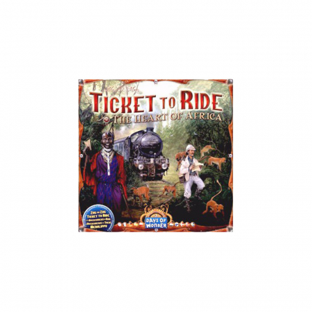 Ticket to Ride Map Collection: Volume 3 /-/ The Heart of Africa0