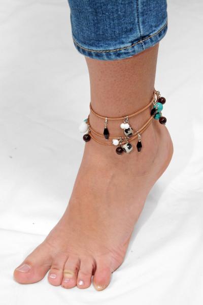 L01(P) Brățară Ganelli multifuncțională pentru mână, gleznă sau colier 2