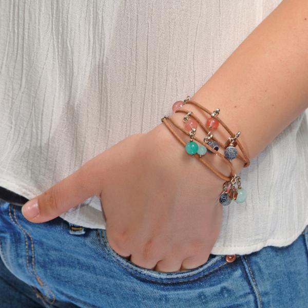 L01(B) Brățară Ganelli multifuncțională pentru mână, gleznă sau colier 1