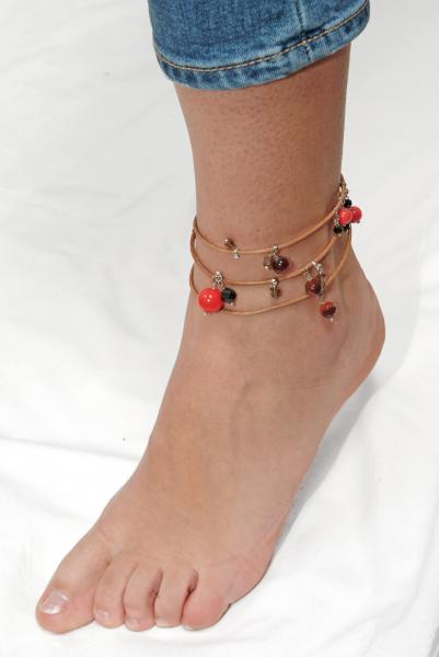 L01(O) Brățară Ganelli multifuncțională pentru mână, gleznă sau colier 2