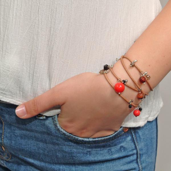 L01(O) Brățară Ganelli multifuncțională pentru mână, gleznă sau colier 1