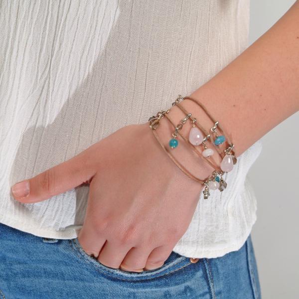 L01 Brățară Ganelli multifuncțională pentru mână, gleznă sau colier 1