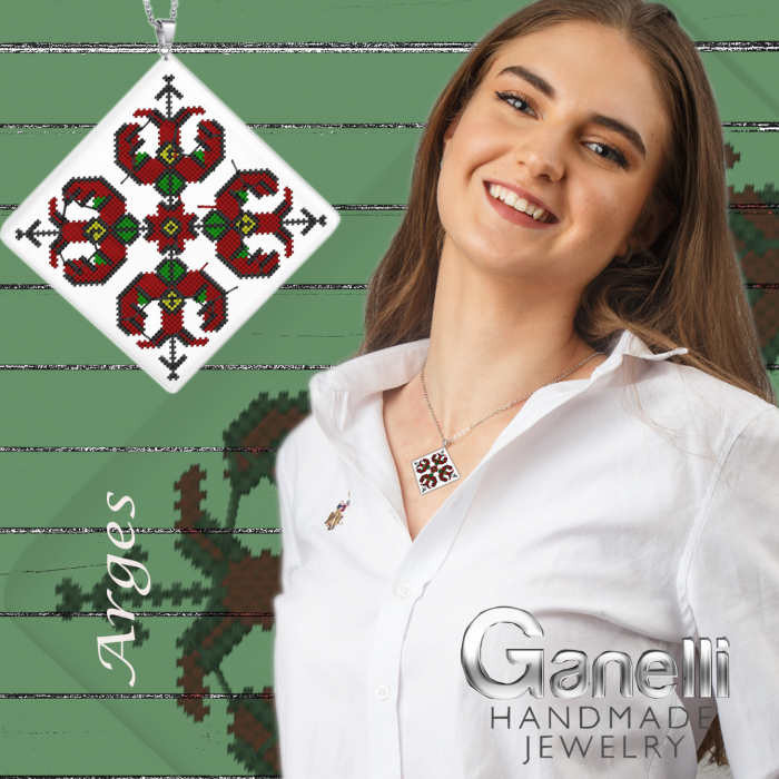 PR02-Pandantiv Ganelli motive populare romanesti Muntenia-Arges 2