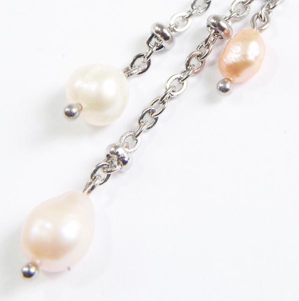 0123(C) Set bijuterii GANELLI Perle naturale de cultura -colier, bratara, cercei 5