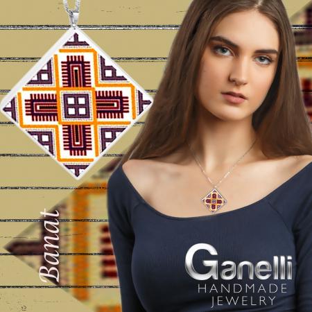 PR08 model 3-Pandantiv Ganelli motive populare romanesti din Banat [2]