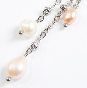 Set bijuterii GANELLI din Perle naturale de cultura- colier, bratara, cercei5