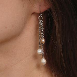 Set bijuterii GANELLI din Perle naturale de cultura- colier, bratara, cercei3