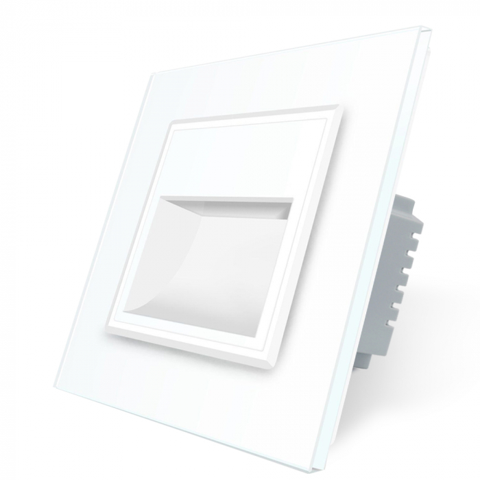 Lampa de veghe LED Livolo cu rama din sticla [2]