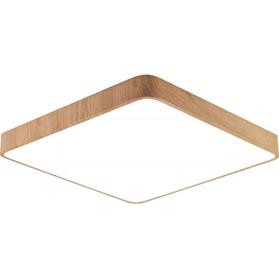 Plafoniera LED 45W Lemn [0]