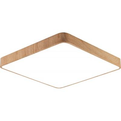 Plafoniera LED 36W Lemn [0]