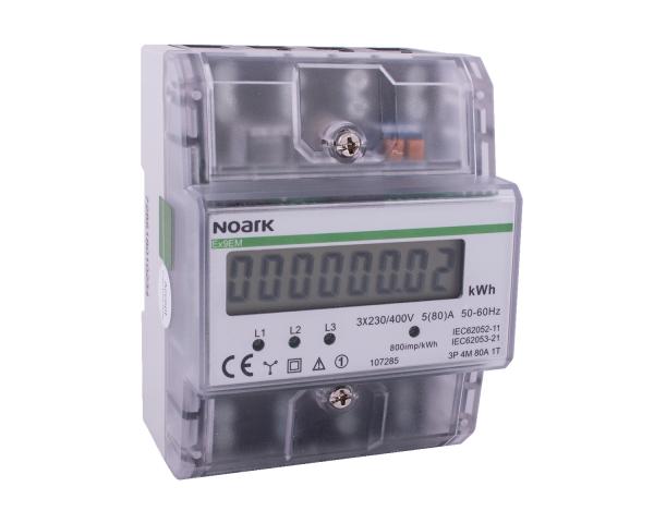 Contor Trifazic pe Sina Digital 3P -  4M 80A Noark [0]