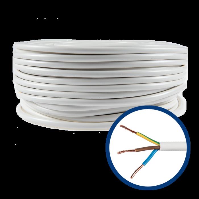 Cablu electric flexibil MYYM 3X0.75 - rola 100m [0]