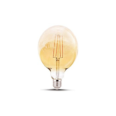 BEC LED DECORATIV COG 4W / 6W G125 350LM 2200K E27 [0]