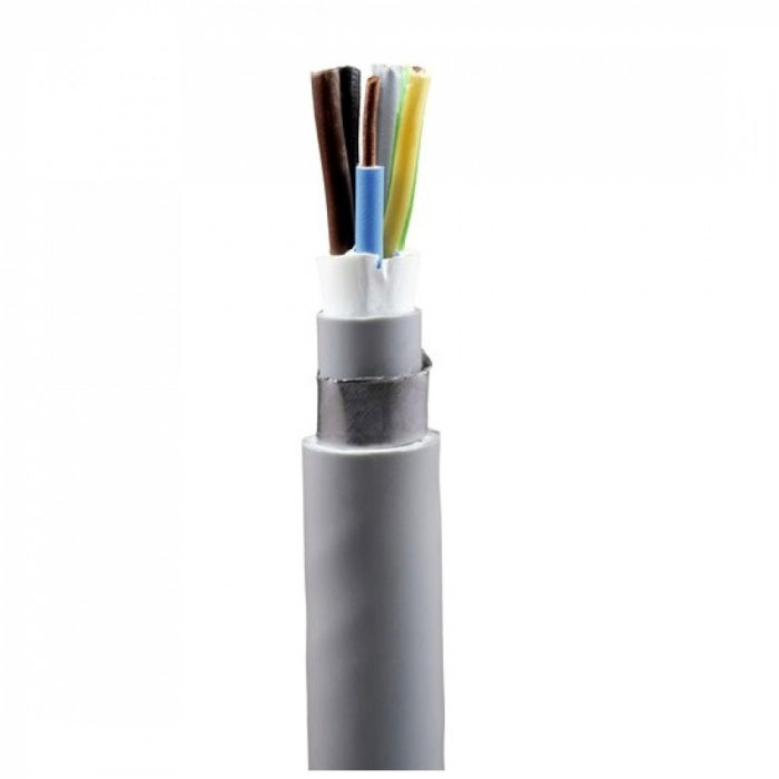 Cablu electric rigid armat cu izolatie pvc CYABY-F 4x6mm (tambur) [0]