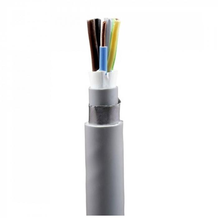 Cablu electric rigid armat cu izolatie pvc CYABY-F 5x10mm (tambur) [0]