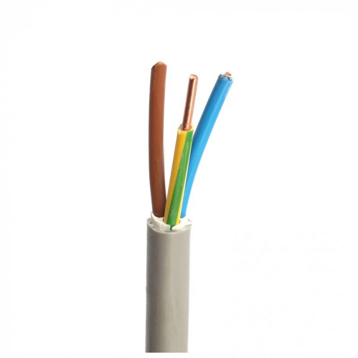 Cablu electric rigid CYYF 3x6mm (tambur) [0]