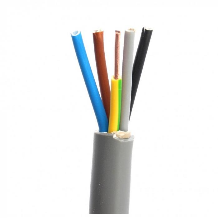 Cablu electric rigid CYYF 5x10mm [0]