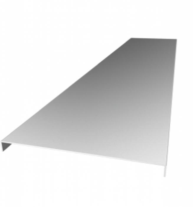 Capac jgheab metalic 50x13x0.60mm [0]