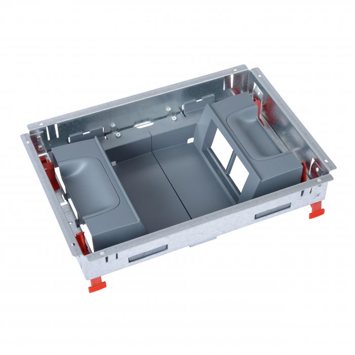 Doza Pardoseala Metalica tip Standard 12M, Suport aparataj Vertical [0]