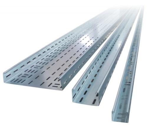 Jgheab metalic perforat 500x60x1mm [0]