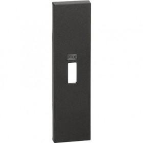 Tasta / Capac pentru priza USB K4285C1 Bticino Living NOW Alb KW10C / Negru KG10C / Nisip KM10C [1]