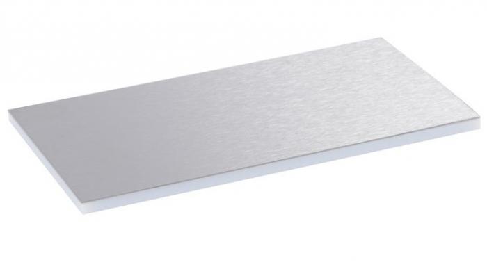 Placa Inox pt Capac si Rama Metal pt Doze Pard.tip Standard 8/12M [0]