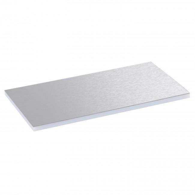 Placa Inox pt Capac si Rama Plastic pt Doze Pard.tip Standard 8/12M [0]