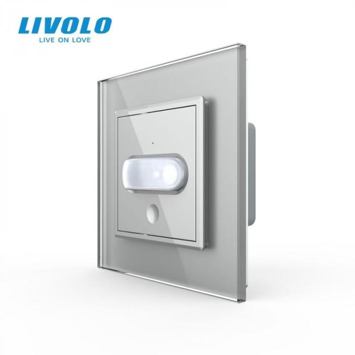 Intrerupator cu senzor de prezenta / miscare PIR LIVOLO [1]