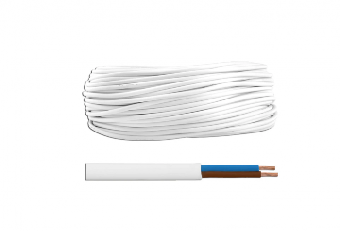 Cablu electric flexibil MYYUP 2X0.50 PLAT [0]
