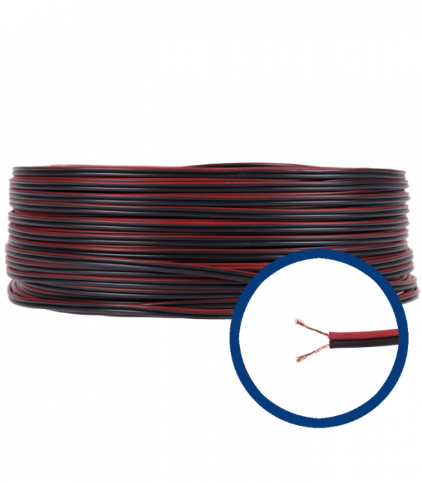 Cablu electric audio MYUP 2X0.5 BOXE [0]