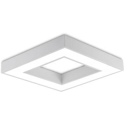 Plafoniera LED Susp. 36W  Alb [1]