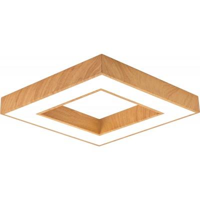 Plafoniera LED Susp. 45W Lemn [1]