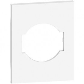 Tasta / Capac pentru priza schuko 3M KG4140A16F Bticino Living NOW Negru KG03M3 / Nisip KM03M3 / Alb KW03M3 [2]