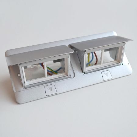 Doza Pop-Up 8 (2X4) module Aluminiu mat [1]