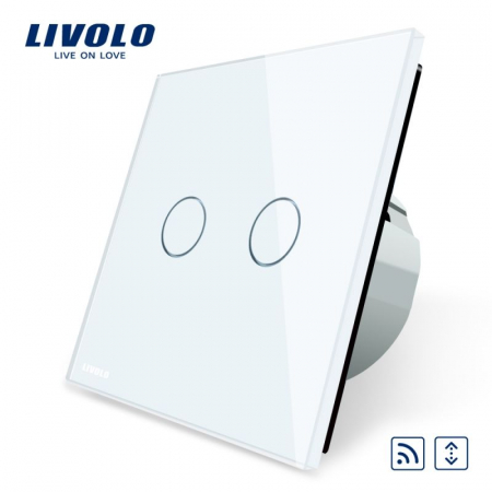 Intrerupator draperie wireless cu touch Livolo [3]
