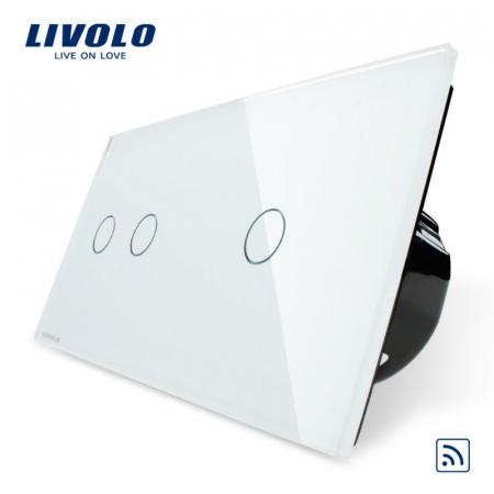 Întrerupător Dublu + Simplu Wireless cu touch livolo [3]