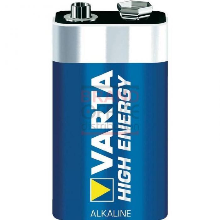 Baterie Varta alcalina 6LR61-9V 0
