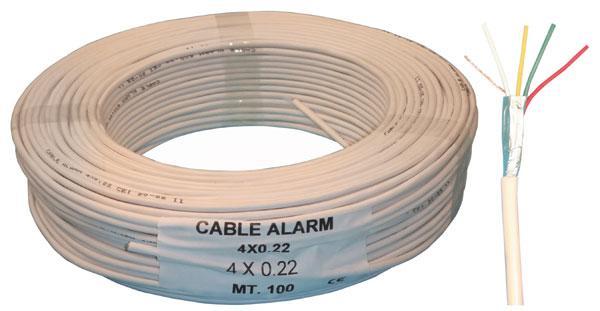 Cablu security 4x0.22 0