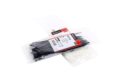 Cravata cablu 310X4.8 alb 0