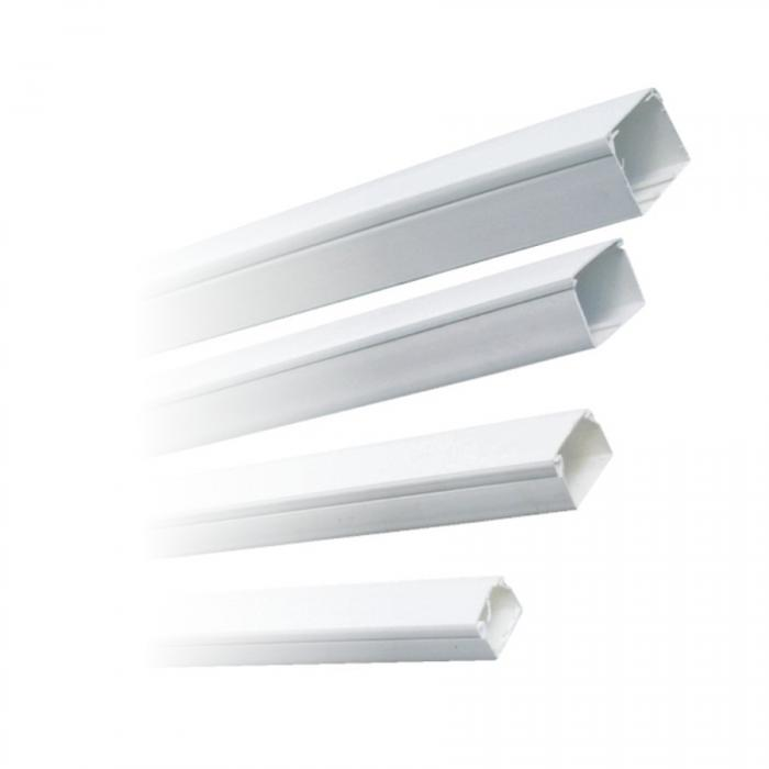 Canal cablu plastic 25x25 alb [0]