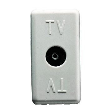 Priza TV directa modular 1M ALB [0]