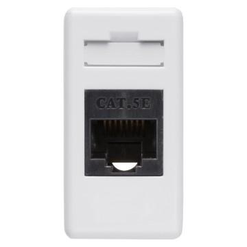 Priza date RJ45 UTP modular 1M alb [0]