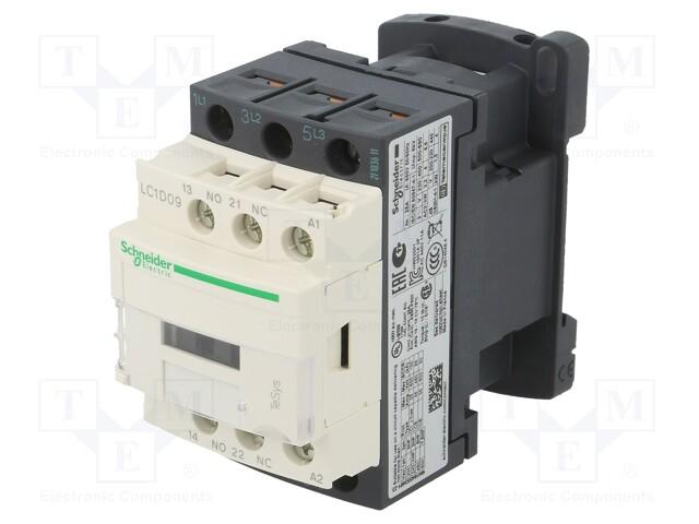 Contactor 3P 9A, 1NO+1NC 230V [0]