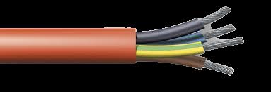 SIHF 5 x 2.5 cablu siliconic 0