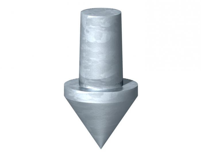 Varf electrod impamantare [0]