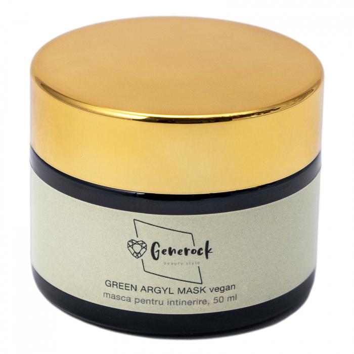 Green Argyl Mask VEGAN - Generock [1]
