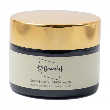 Green Argyl Mask VEGAN - Generock